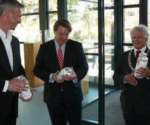 Bezoek Commissaris van de Koning Wim van de Donk Coenradie