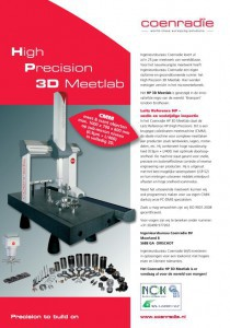 Coenradie High Precision 3D Meetlab CMM