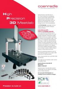 Coenradie High Precision 3D Meetlab CMM