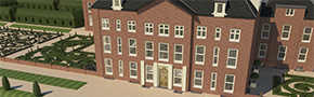 Paleis Het Loo - 3D Maquette Ingenieursbureau Coenradie