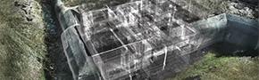Ingenieursbureau Coenradie 3D laserscannen bunkers terschelling