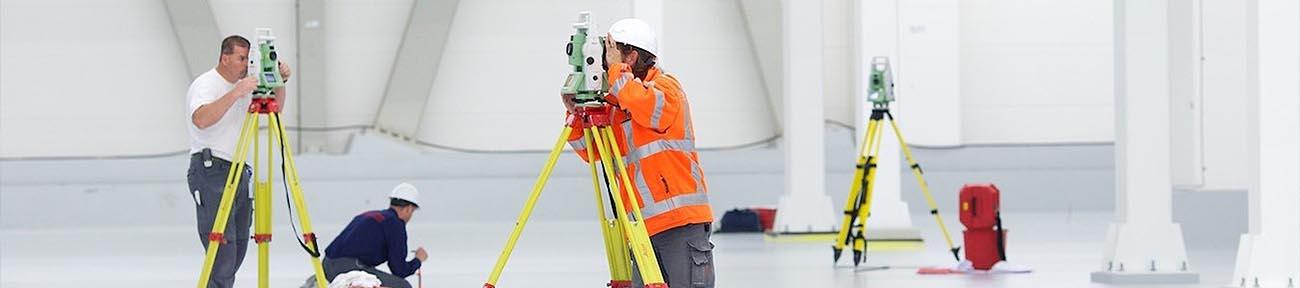 Coenradie Dienstverlening Maatvoeren Uitzetten Landmeten Surveying Laserscannen Lasertracker