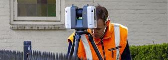Coenradie 3D laserscannen